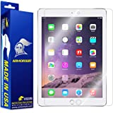 Armorsuit, Apple iPad Screen Protector (2017, iPad Pro 9.7, Air 2, Air) MilitaryShield Lifetime Replacement Ultra HD Clear Screen Protector For Apple iPad