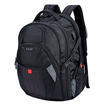 537a7fcf45 KALIDI 17 inch Laptop Backpack