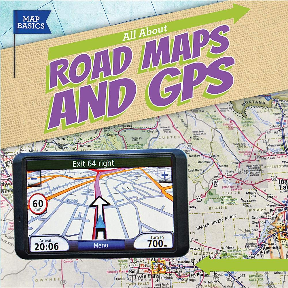 All About Road Maps and GPS (Map Basics): Barbara M. Linde ... on mu map, ca map, mco map, northern europe map, central europe map, western europe map, osi map,