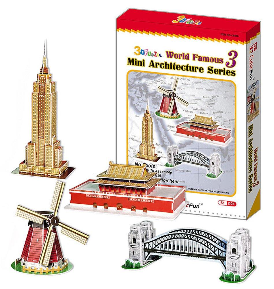 3D立体パズル 世界の建築物3 世界の建築物3 3D立体パズル B007KFPCWY B007KFPCWY, hyog:61d37fab --- m2cweb.com