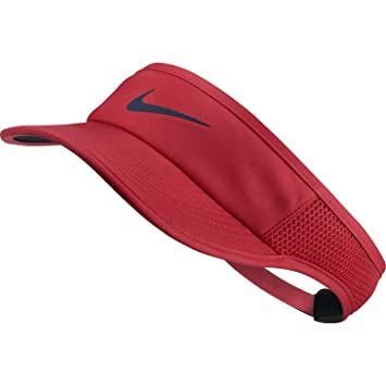 Nike aerobill Feather Light Gorro, Otoño-Invierno, Mujer, Color Action Red/Black/Midnight Navy, tamaño Talla única: Amazon.es: Deportes y aire libre