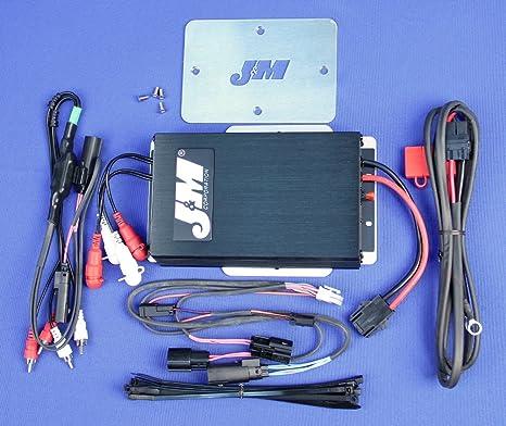 J&M Audio Lower Fairing Wiring Harness Kit 2014 & Newer ... on