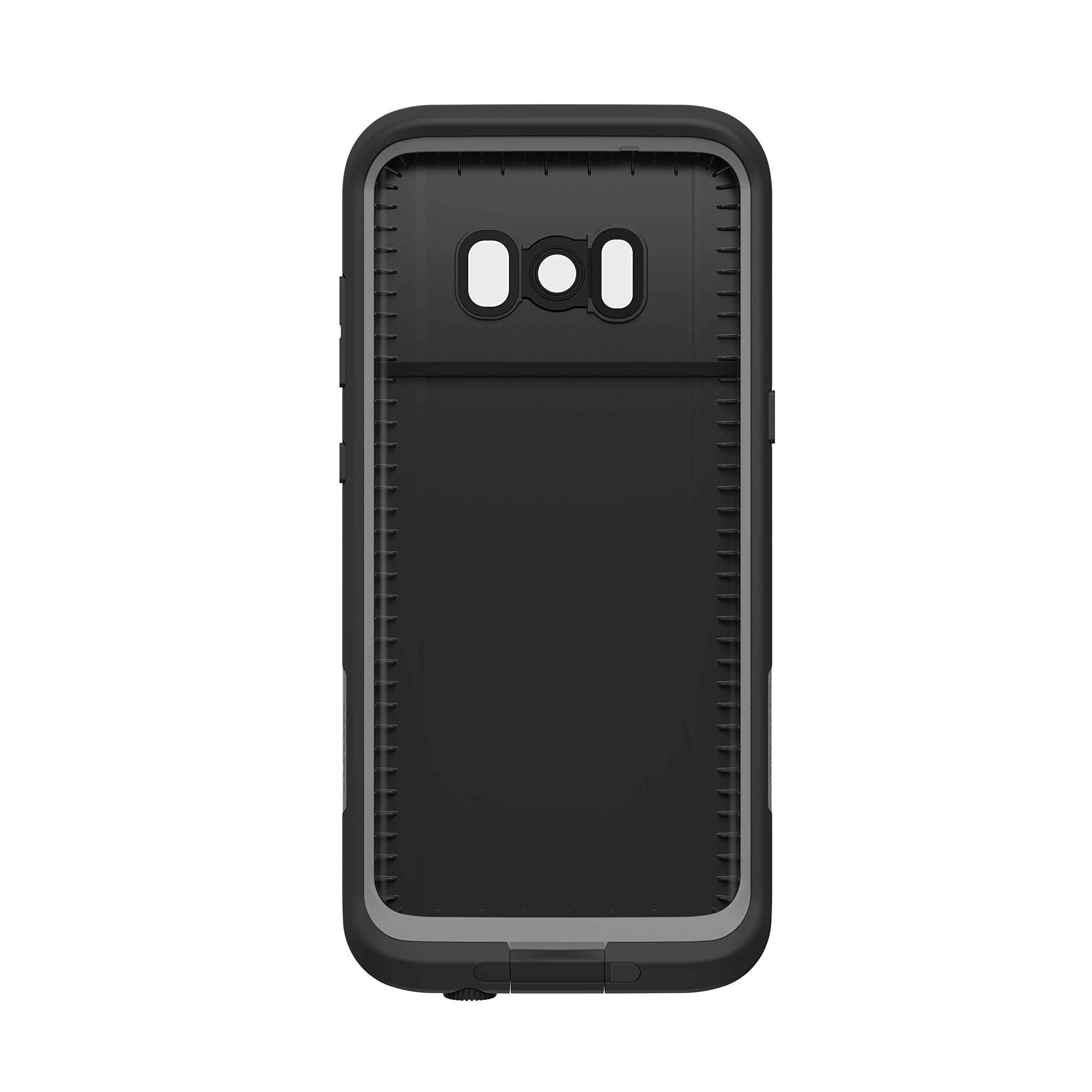 Lifeproof FRĒ SERIES Waterproof Case for Samsung Galaxy S8 (ONLY) - Retail Packaging - ASPHALT (BLACK/DARK GREY) by LifeProof (Image #4)