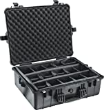 Pelican 1600 Camera Case with Padded Dividers