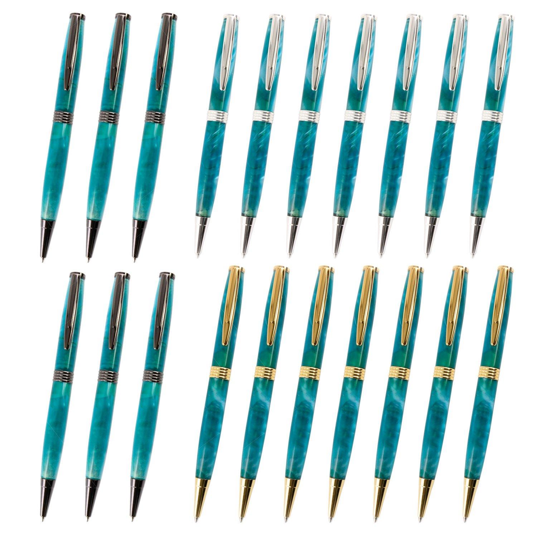 Legacy Woodturning, Streamline Pen Kit, Many Finishes, Multi-Packs by Legacy Woodturning