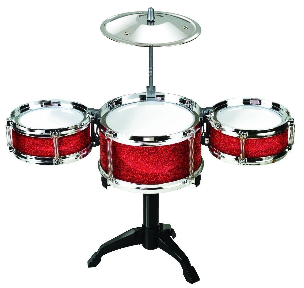 Amazon.com: Desktop Drum Set - Red: Toys & Games