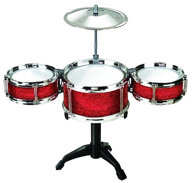 Amazon Desktop Drum Set Red Toys Games