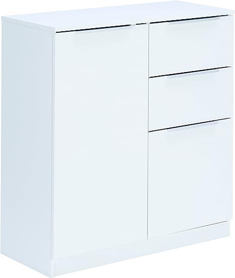 Demeyere 250531 Rangement Tout 2 Portes Et 2 Tiroirs Blanc 80 X 35 3 X 85 Cm Amazon Fr Cuisine Maison