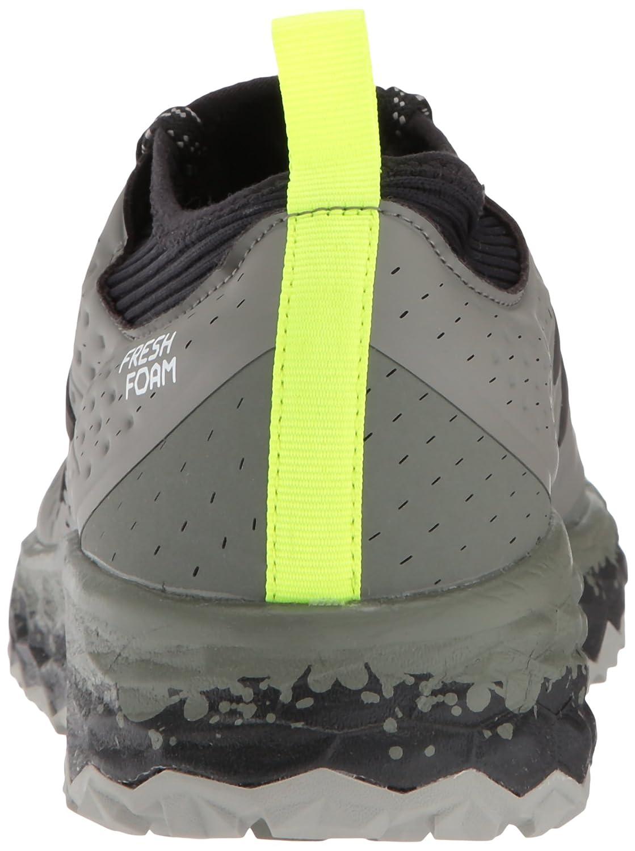New Balance Herren Fresh Foam Hierro V3 Traillaufschuhe Grün (Military Foliage Green/Black D3)