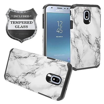 Amazon.com: Z-GEN - Carcasa híbrida para Samsung Galaxy J3 ...