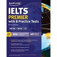 IELTS Premier with 8 Practice Tests: Online + Book + CD