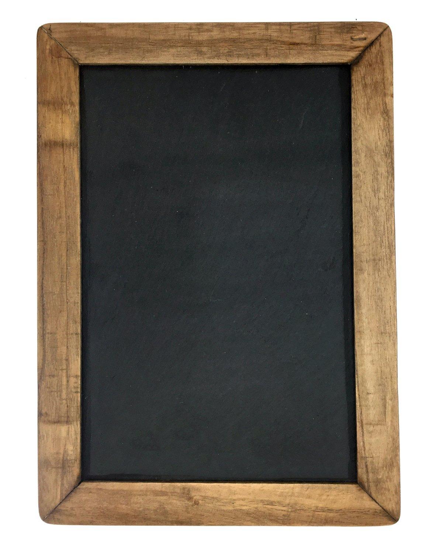 """Vintage Framed Slate Kitchen Chalkboard (10"""" X 14"""