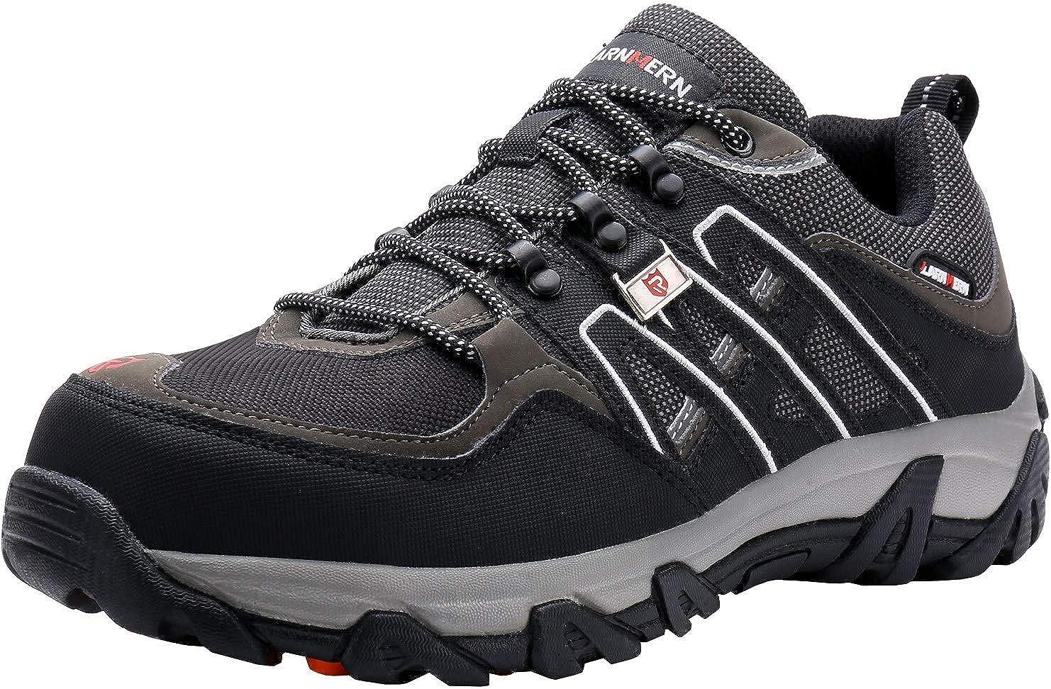 LARNMERN Chaussures de Sécurité Homme LM-1505 Embout Acier Semelle Anti-Perforation Acier Chaussures...