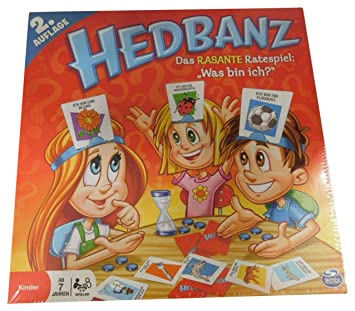 Spin Master Hedbanz Juego De Mesa Games Version En Aleman