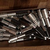 Gel/ändern in Porenbeton 522830 fischer FPX M10 I Art.-Nr 2 St/ück Stahlanker mit metrischem Innengewinde zum Befestigen von abgeh/ängten Decken