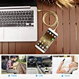 ZONYIN USB Type C Cable 2 Pack Metal Braided Fast