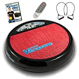 Vibrapower Disc 2 Limited Edition Vibration Plate with Resistance Bands + Free DVD