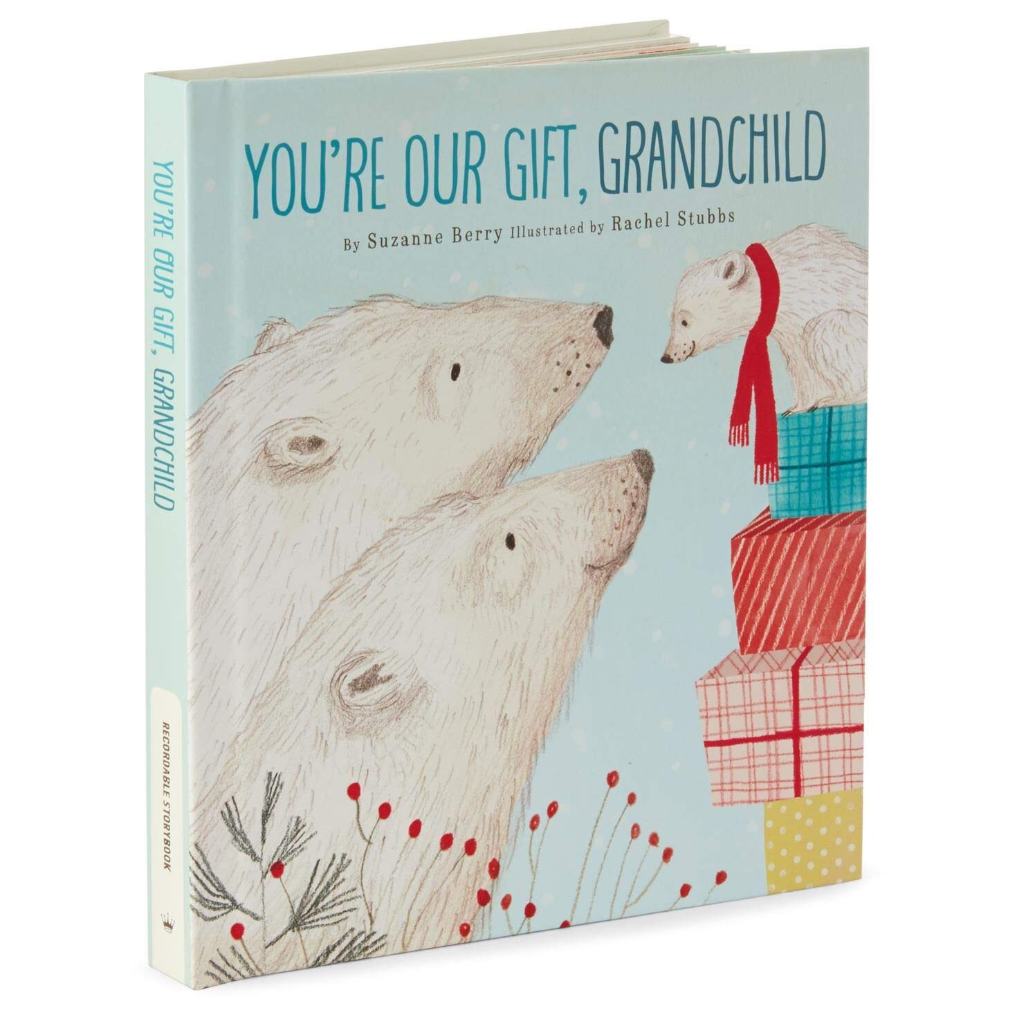 A Christmas Wish for My Grandchild Recordable Storybook