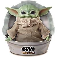 "Star Wars GWD85 Child Plush Toy Yoda-like Soft Figure from the Mandalorian, 11"" Green"
