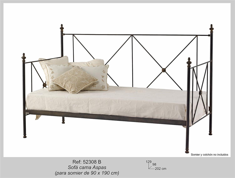 Art-Domus - 52308 - Sofa Cama Aspas. Colchón Y Someir No ...