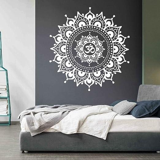 kingko Wohnzimmer Wandaufkleber Aufkleber Kunst Mural Home Mandala ...