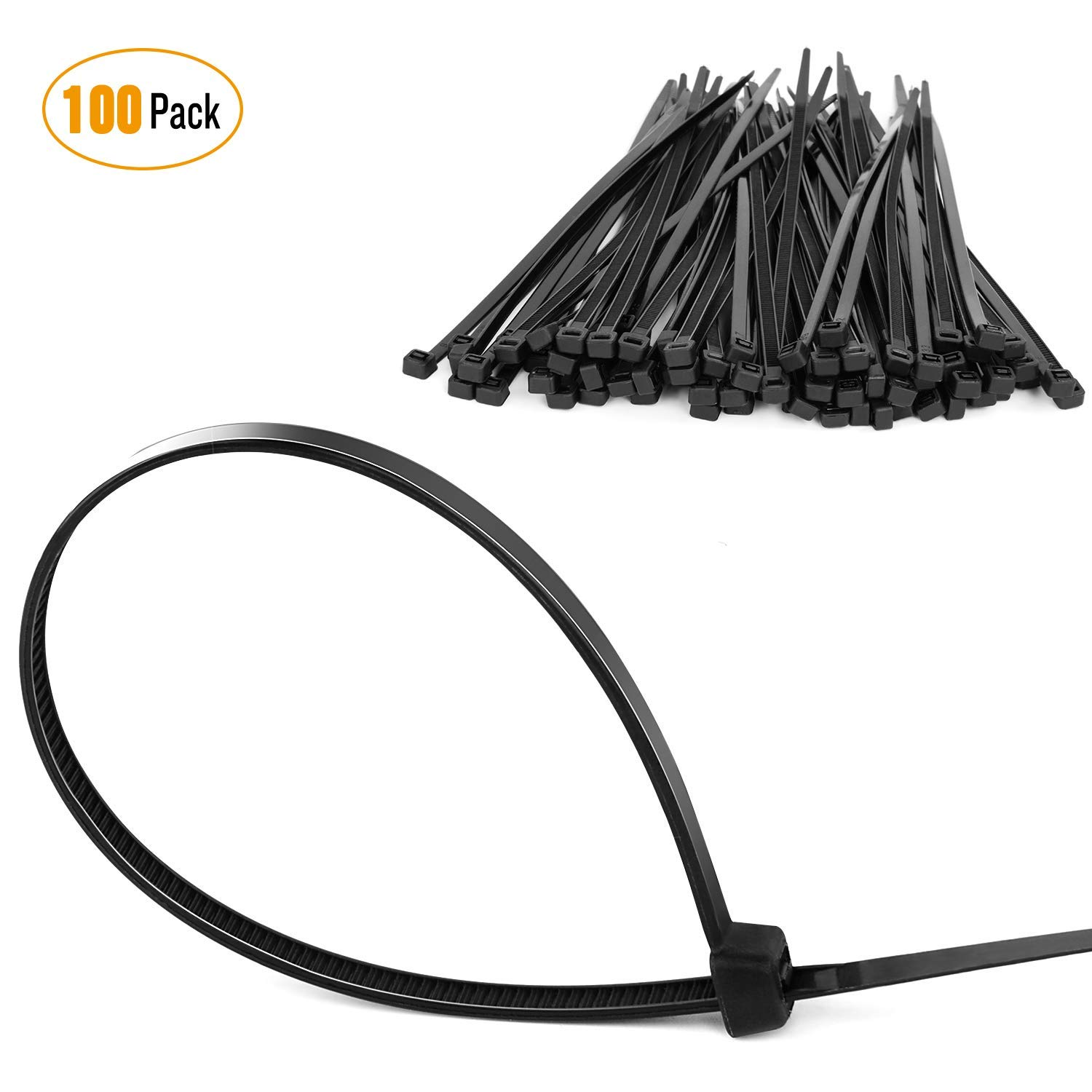 Gooacc 6252844 8 Plastic Cable Zip Ties 100 Pack 2000 Honda Odyssey Headlight Assembly Wiring Automotive