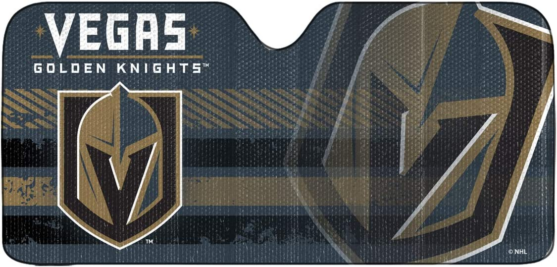 Vegas Golden Knights Car Sun Shade 27.5 in FANMATS NHL x 58 in.