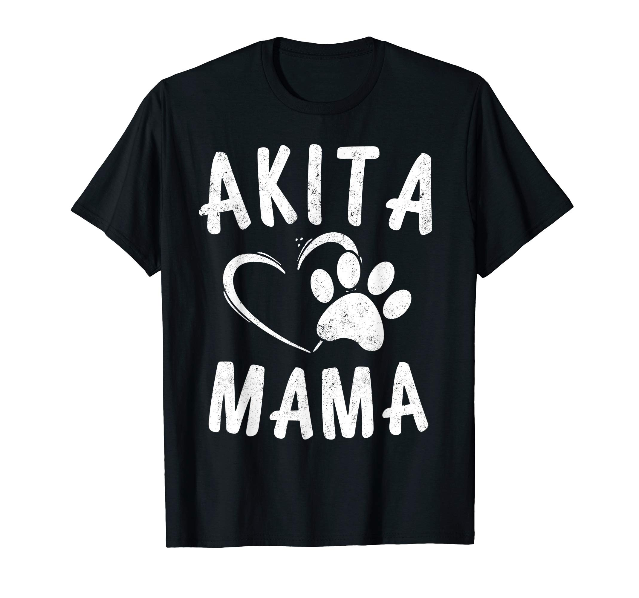 Fun Akita Mama Gift Pet Lover Apparel Dog Akita Mom T-Shirt 1