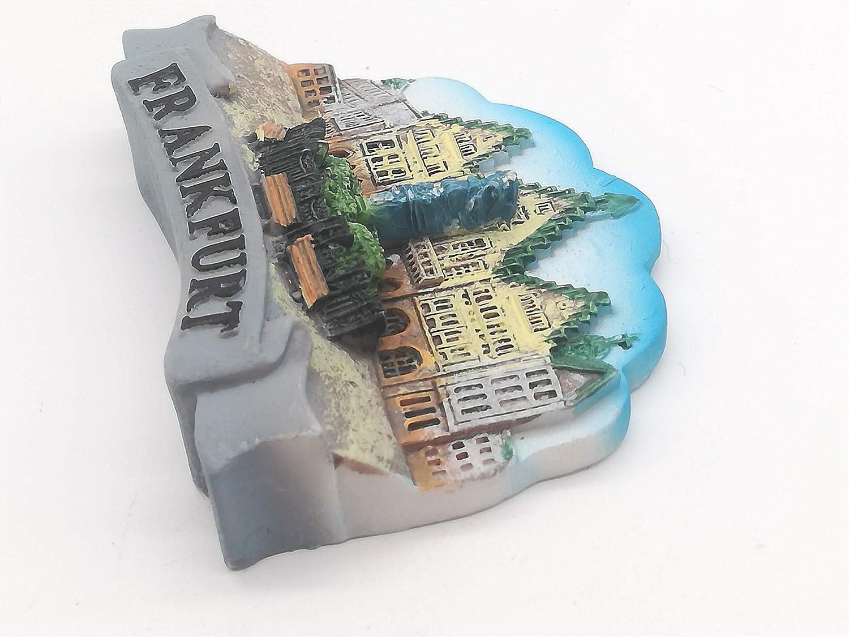 Frankfurt Germany 3D Fridge Magnet Tourist Souvenir Gift /& Collection Home /& Kitchen Decoration Magnetic Sticker Frankfurt Germany Refrigerator Magnet