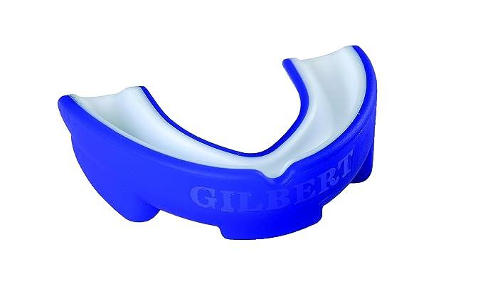 Protège Dents Atomique Double Densité Rouge/Blanc Protections