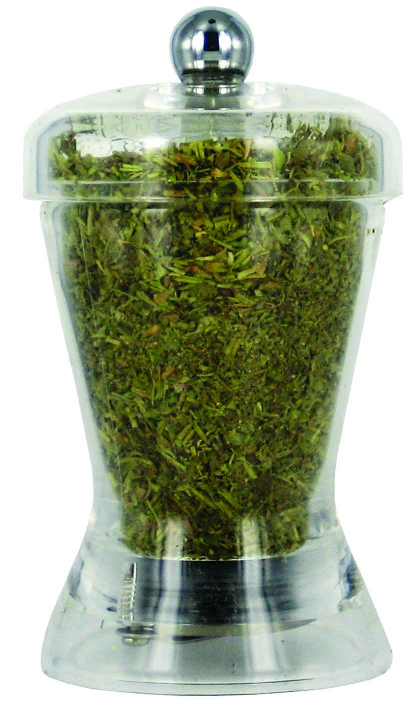 SPECIAL ACRYLIC MILL ZOUK Herbs Mill, transparent, 4-Inch