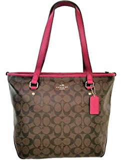 8193834236 Coach Reversible City Tote in Bramble Rose Floral and Black ...