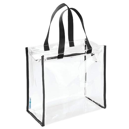 Amazon.com: InterDesign 0 playa negro/transparente Nya Bolsa ...