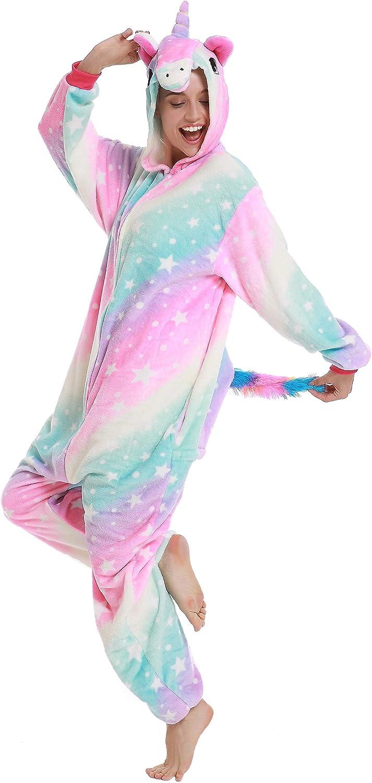 Amazon.com: Pijama de unicornio de alta calidad para adultos ...