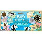 eeBoo Baby Animals Puzzle Pairs Matching Game