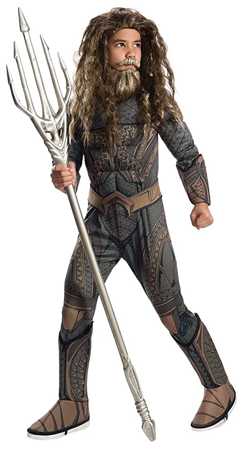 Rubies Costume Co Justice League Childs Deluxe Aquaman Costume