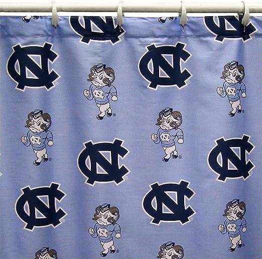 NCAA Kentucky Wildcats 18 Piece Bath Ensemble: Set Includes 1 Shower Curtain 4 Bath Towels 12 Shower Hooks and 1 Bath mat.