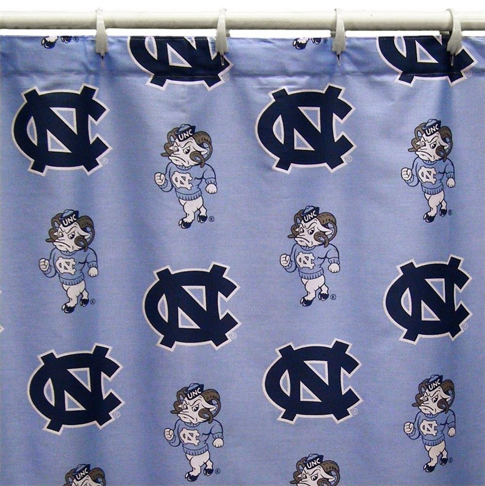 College Covers Shower Curtain Cover, 70'' x 72'', North Carolina Tar Heels by College Covers