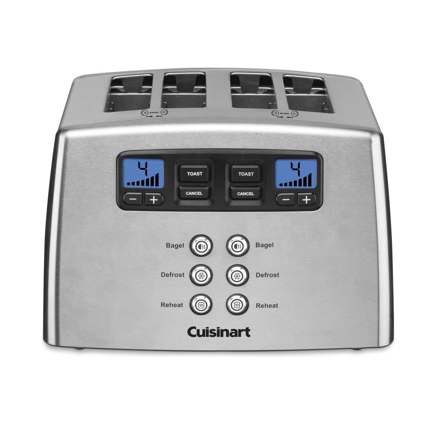 Cuisinart CPT-440 Touch to Toast Leverless 4-Slice Toaster by Cuisinart
