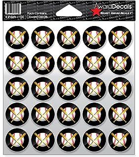 Helmet Award Stickers Sports Helmet Decal baseball softball Skull Cross Bats