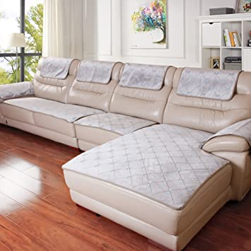 Kfhiwuehpjhd Sofa Covers For Leather Sofa Four Seasons Non Slip Sofa