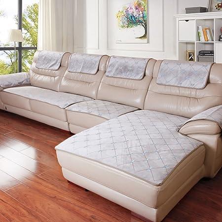 Sofa Covers For Leather Sofa,Four Seasons Non Slip Sofa Set Of Modern Fabric