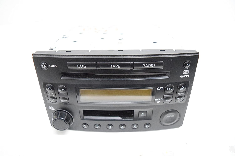 04 05 Nissan 350z Bose Radio 6 Cd Player Oem Car Stereo Wiring Electronics