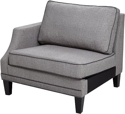 Gordon Modular Sofa Left Arm Grey See Below