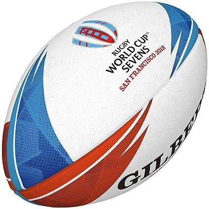 Gilbert Synergie XV-6 - Pelota de Rugby Unisex, diseño de la Copa ...