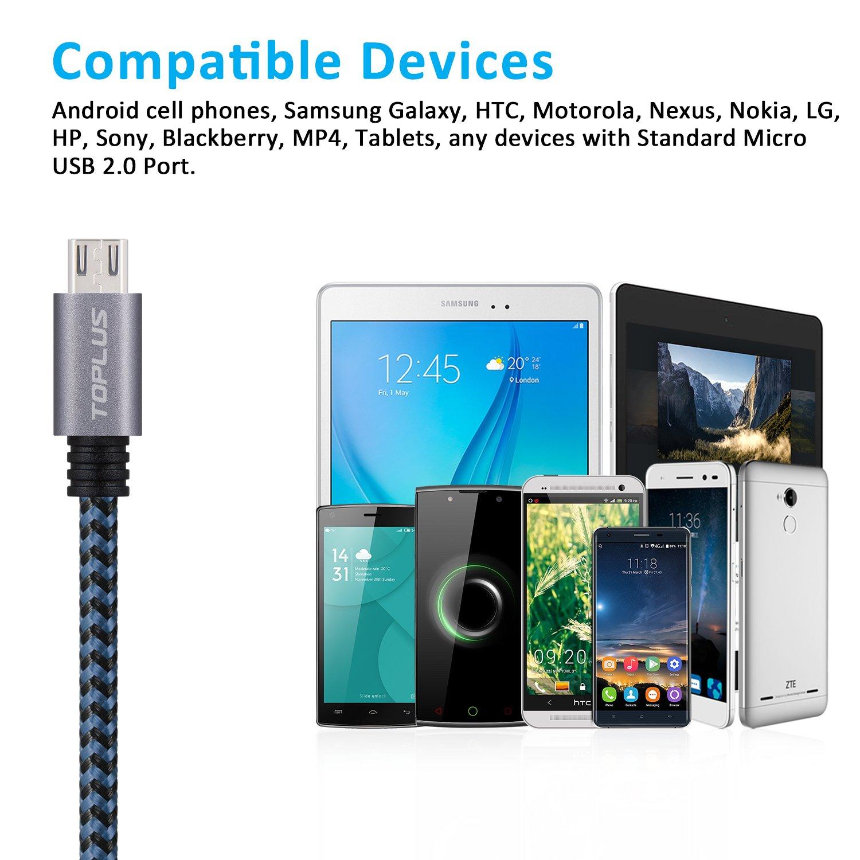 TOPLUS - Cable de transmisión de datos micro USB realizado en ...