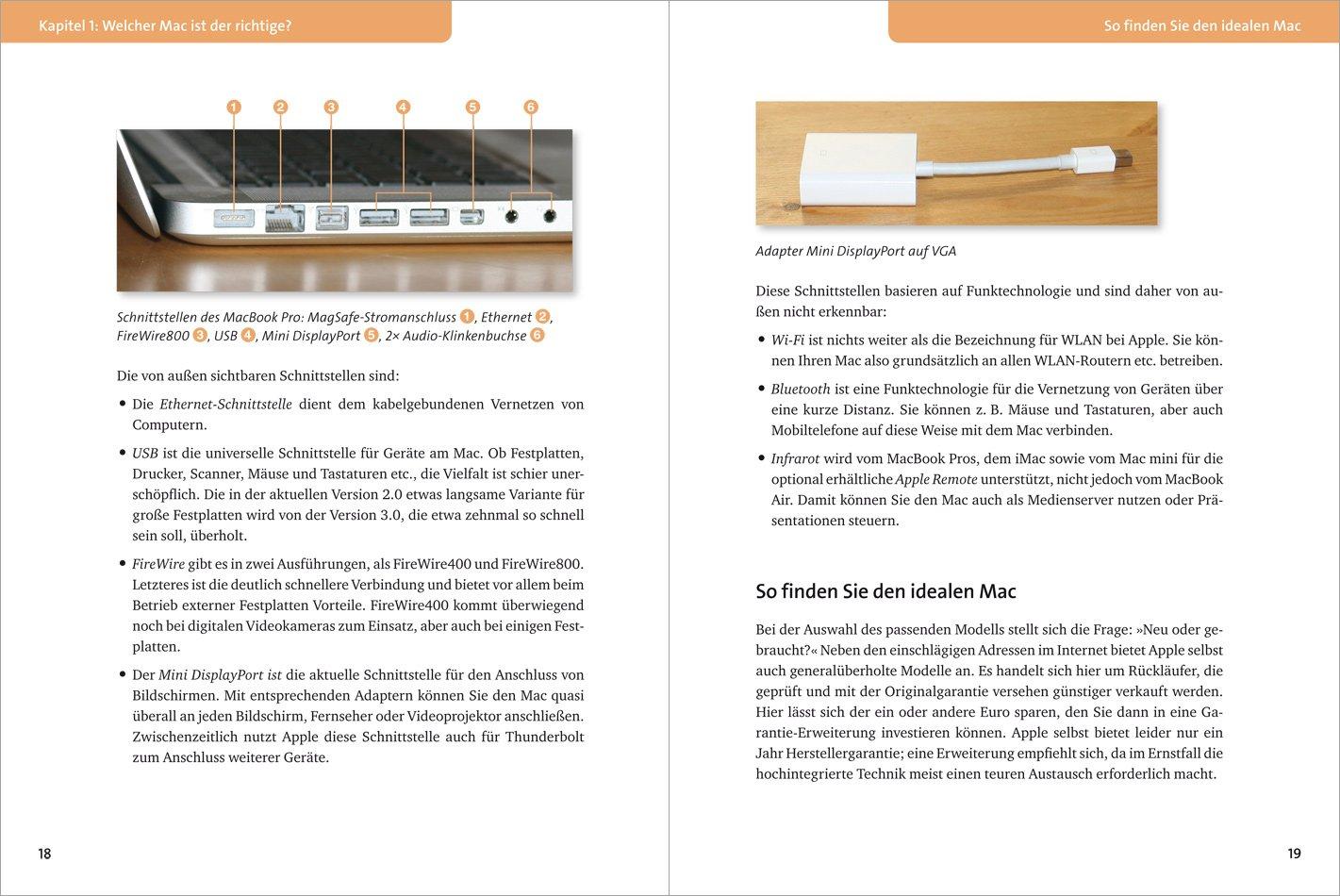 Mein erster Mac: Der leichte Einstieg. Aktuell zu OS X Lion ...