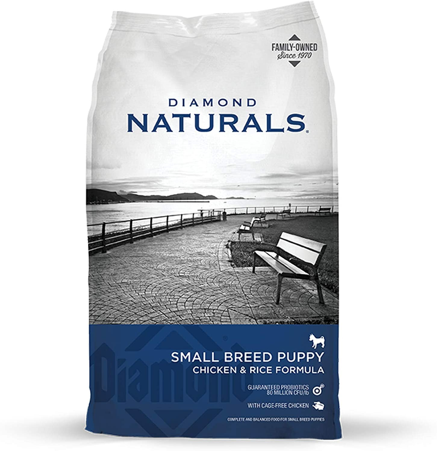 Diamond Naturals Small Breed Puppy Real Chicken Recipe High Protein Dry Dog Food
