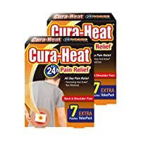 Cura Heat Back & Shoulder Pain - (Pack of 7) X 2