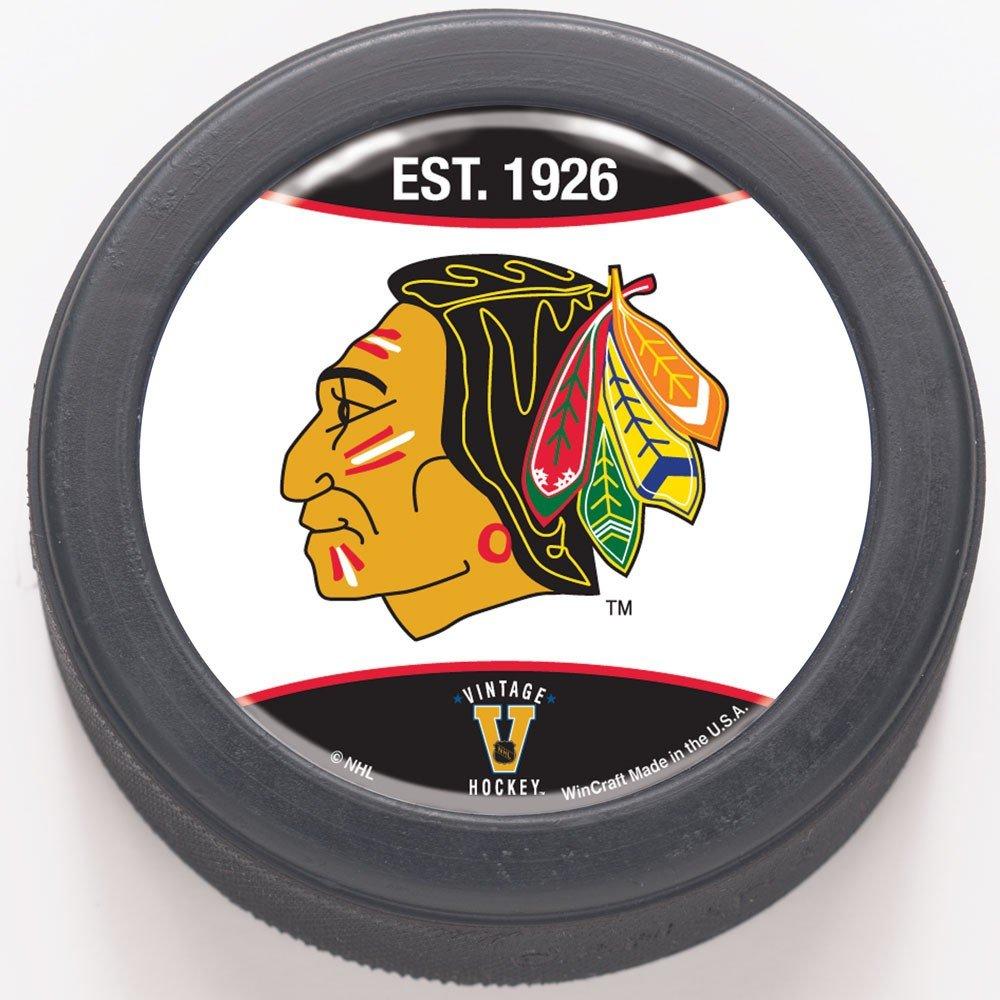NHL Chicago Blackhawks 65816081Bulk en forme de dôme hockey Puck